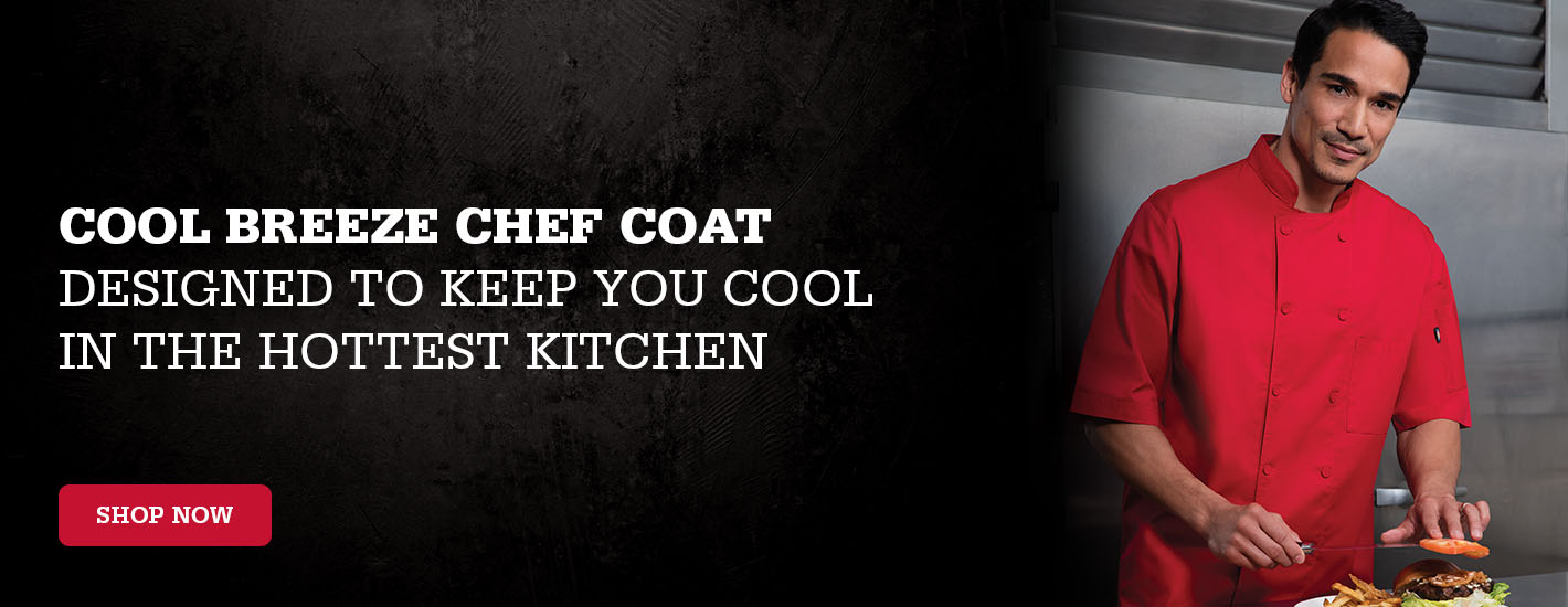 Cool Breeze Chef Coat